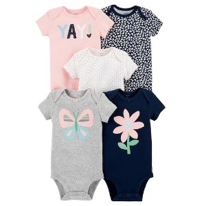 Carters女婴包臀衫5件套