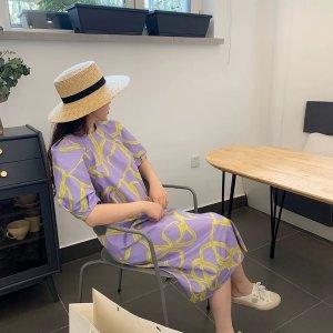 COS香芋紫裙