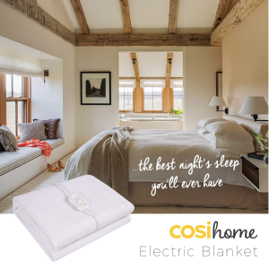 现价 £29.99(价值£49.99)Cosi Home 热敷电热床毯,3尺寸可选