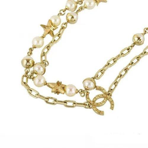 双C珍珠项链
