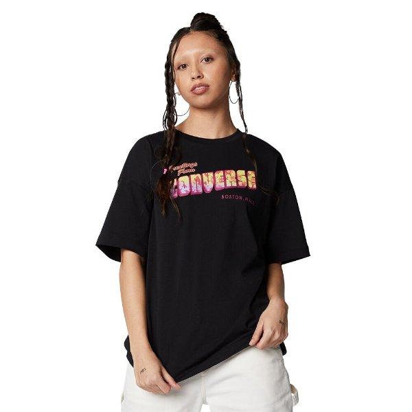Oversized 黑色短袖