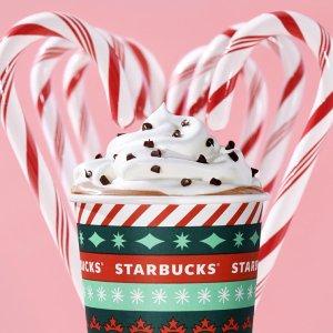 每年一次 仅限圣诞期间Starbucks 星巴克 2020圣诞特饮火爆登场 哪一款是你的心头爱