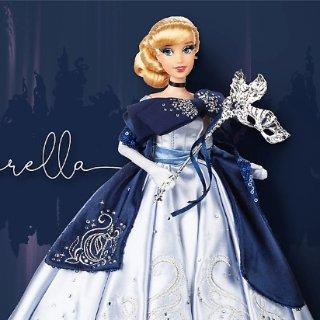 10月19日发售封面款灰姑娘款新品预告:迪士尼官网 10月最新限量假面舞会公主娃娃惊艳登场