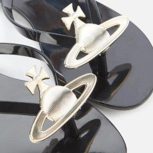 全场8折 小土星凉鞋€82收Vivienne Westwood x Melissa联名果冻鞋 黑科技香香鞋 夏天最爱