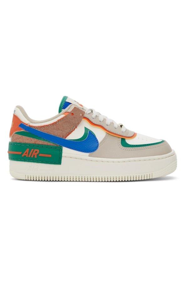 Air Force 1 拼色运动鞋