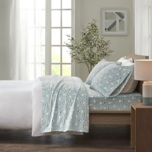 Comfort ClassicsCozy Flannel 100% Cotton Sheet Set