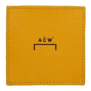 A-Cold-Wall* 皮质零钱夹