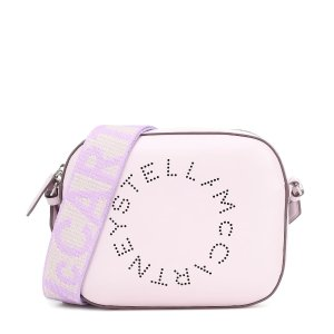 Stella McCartneyLogo faux-leather shoulder bag