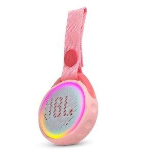 $39.96 (原价$49.95)可持续使用5小时JBL JR POP 儿童蓝牙便携音响 防水+自动变色灯光