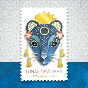 Forever StampUSPS Lunar New Year, Year of the Rat