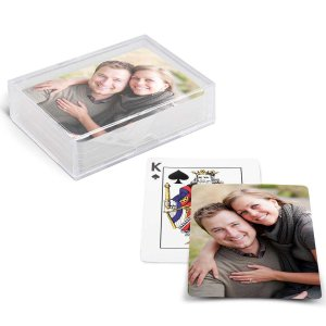 Personalized Playing Cards with Plastic Case