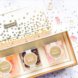 Free Champagne Bears Candy CubeSugarfina Exclusive Promotion Spend $40+ Get