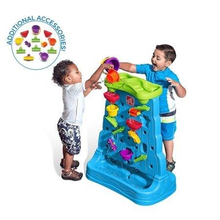 瀑布玩水玩具,含13个配件