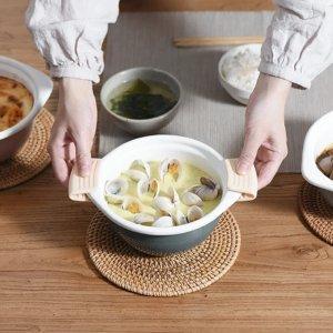 日本搪瓷迷你锅1.2QT 多色可选