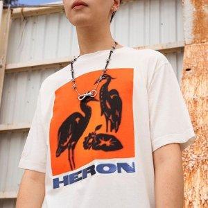 3折起 长袖T恤$200+Heron Preston 折扣升级  NASA标T恤白菜价$84