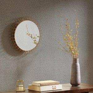 Designer Living Cirque Iron Circle Mirror