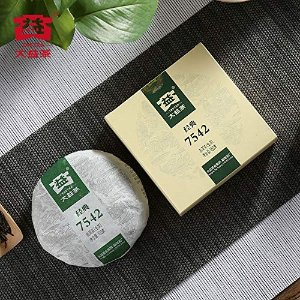 TAETEA大益经典7542普洱茶 生茶