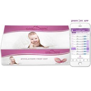 仅$28.1 (原价$38.9)Easy@Home 排卵试纸100个+早早孕验孕试纸20个