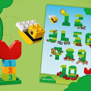 Free Learning Numberswith $25+ LEGO® DUPLO® Purchase @ LEGO Brand Retail