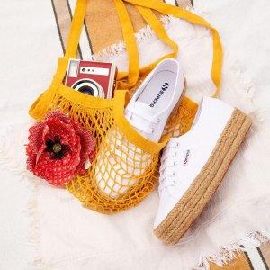 """低至4折 饼干鞋仅$70Superga 意大利的""""飞跃""""限时清仓 宇博、Kendall都在穿"""