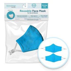 Boomerang Tool买一赠一Boomer Naturals Adult 30 Day 防护面罩