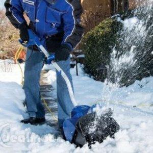$150.34(原价$218), 雪暴必备Snow Joe Ultra SJ620 13.5 Amp 电动除雪机,省时省力