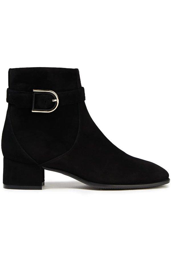 Bel 麂皮踝靴