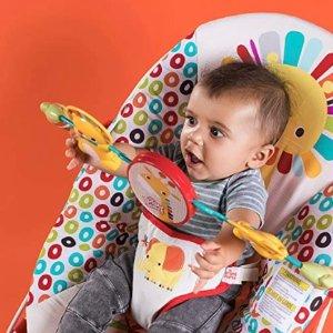 低至5.4折+包邮 封面款史低价史低价:Bright Starts 精选婴幼儿玩具、健身毯、摇篮等特卖