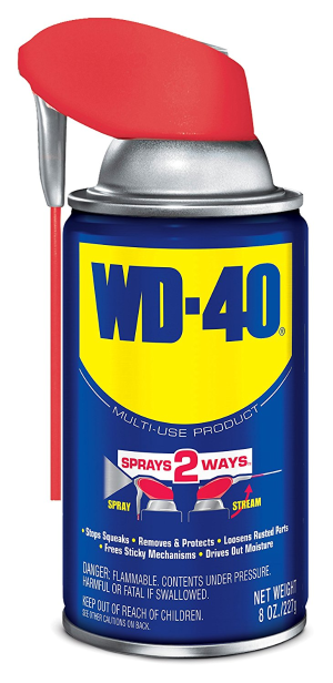 $3WD-40 Multi-Use Product - Multi-Purpose Lubricant with Smart Straw Spray