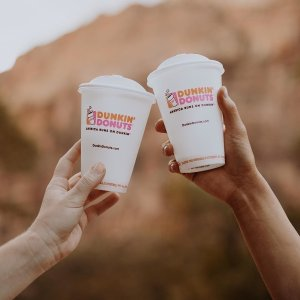 Buy one get one hot coffeeDunkin' Donuts National Coffee Day 9/29