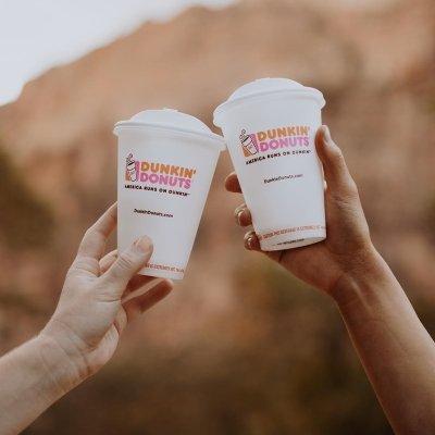 Buy one get one hot coffeeDunkin' Donuts National Coffee Day 9/29