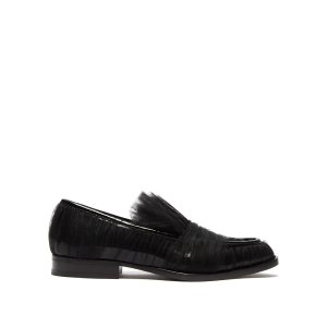 Midnight 00Tulle-covered patent-leather loafers | Midnight 00 | MATCHESFASHION US