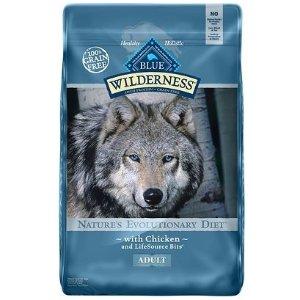 满$75享8折Blue Buffalo Wilderness 宠物粮食促销热卖