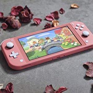 NintendoSwitch Lite 珊瑚粉