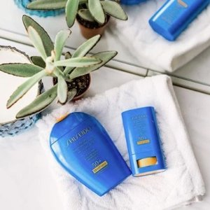 Last Day: 20% Off+Free Giftwith Suncare Items purchase@ Shiseido