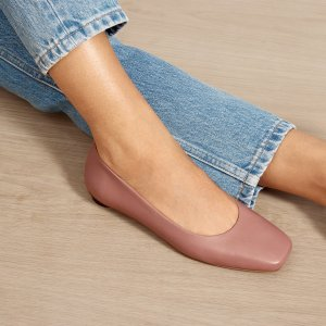 New Arrivals Square Toe Flat @ Everlane