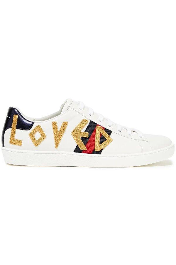 LOVE 小白鞋
