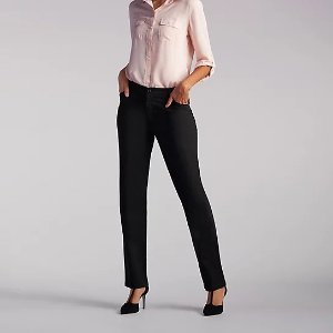 30% Off $100Women's Relaxed Fit Straight Leg Pant (All Day Pant) | Lee