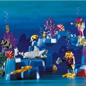 满$50享7.5折playmobil 德国儿童拼装玩具 想带你去看海豚