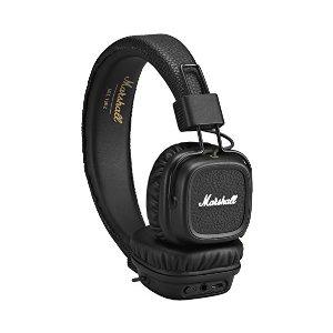 $48.48 (原价$150)史低价:Marshall Major II 蓝牙耳机 黑色