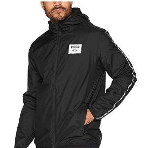 $25.57+任意单包邮PUMA Graphic 男子运动冲锋衣低价收 双色可选