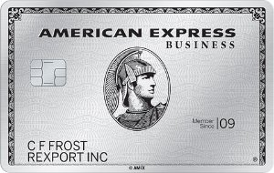 Welcome Offer: Earn up to 100,000 Membership Rewards® points. Terms ApplyThe Business Platinum® Card from American Express