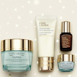 Up to 49% Off+Free SamplesNew Must-have Skincare Sets @ Estee Lauder