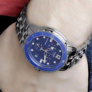 Tissot Seastar Chronograph Blue Dial Men S Watch No T066