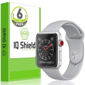 $2.35Apple Watch 屏幕保护膜 (适配Series 3/2/1),6个装