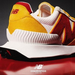 定价$200 双色可选上新:Casablanca x New Balance 合作鞋款发售