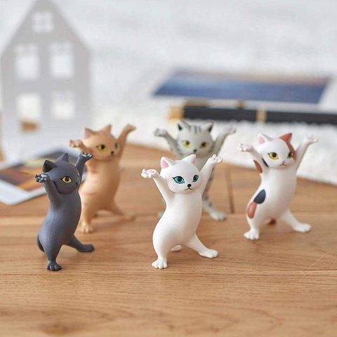 5个仅€5.14,合€1.03/个网红托举猫 AirPods、钢笔等万物可托 俏皮可爱萌系治愈