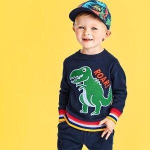 低至5折 包邮Children's Place官网 Tiny系列可爱婴幼儿服饰热卖