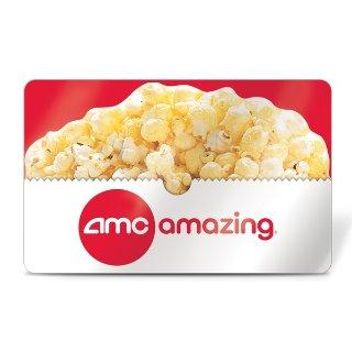 $13收价值$26礼卡AMC 电影院 eGift Card 礼卡半折 部分受邀用户可购买