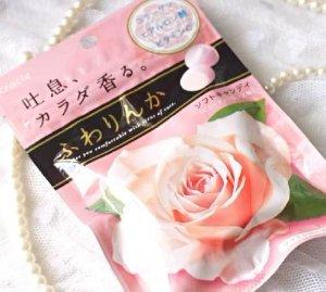 Kracie玫瑰体香糖